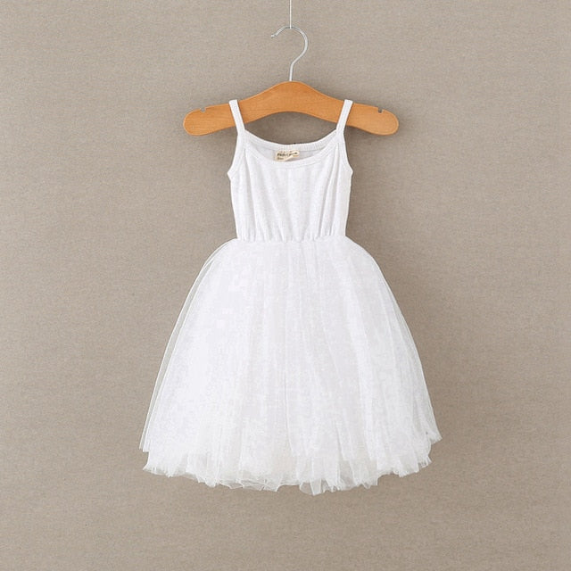 4 Colors girls summer dress casual style baby girls clothes children dresses girls 2018 cotton a line birthday princess dress