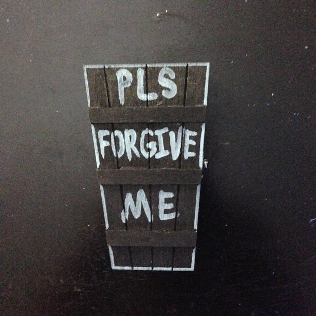 PLEASE FORGIVE ME coffin container,  Box by HORRIBLENOISE