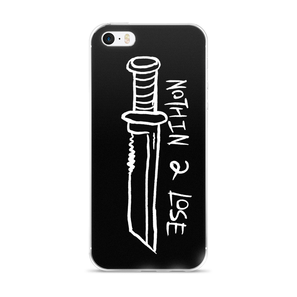 NOTHIN 2 LOSE iPhone Case,  iPhone Case by HORRIBLENOISE