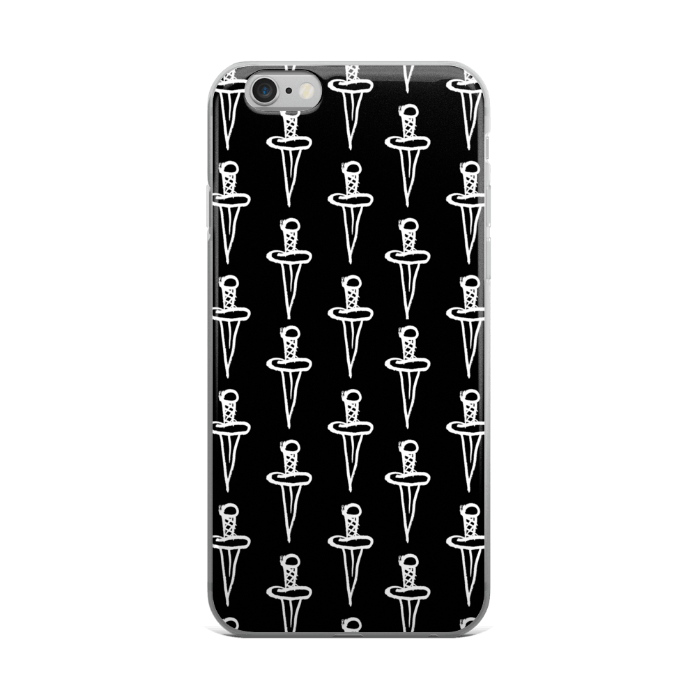 HAIL CAESAR iPhone Case,  iPhone Case by HORRIBLENOISE