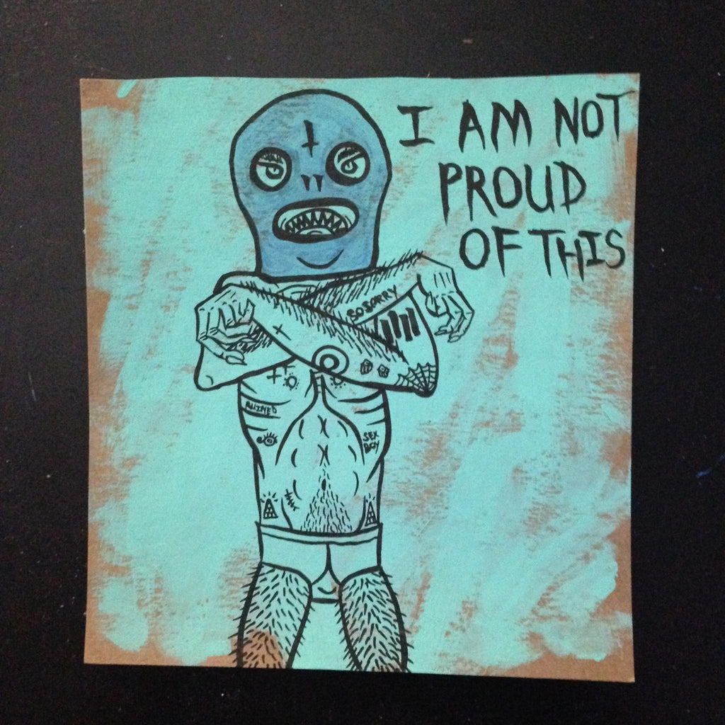 I AM NOT PROUD OF THIS drawing,  Painting by HORRIBLENOISE