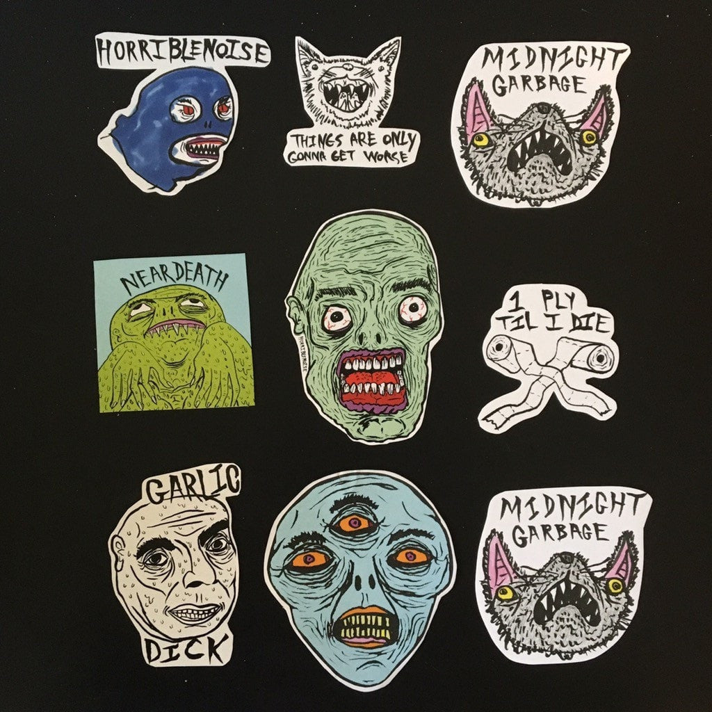 SUMMER '17 STICKER PACK,  Stickers by HORRIBLENOISE