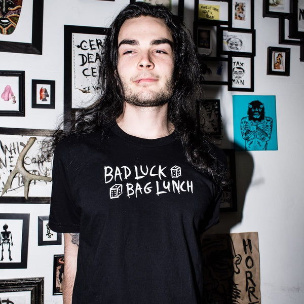 HORRIBLENOISE T-shirt BAD LUCK BAG LUNCH tee