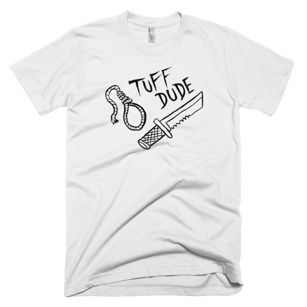 TUFF DUDE tee,  T-shirt by HORRIBLENOISE