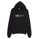 BIG KNIFE pullover hoodie,  Zip Hoodies by HORRIBLENOISE