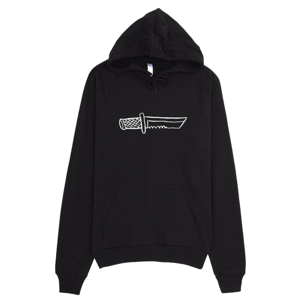 HORRIBLENOISE Zip Hoodies BIG KNIFE pullover hoodie