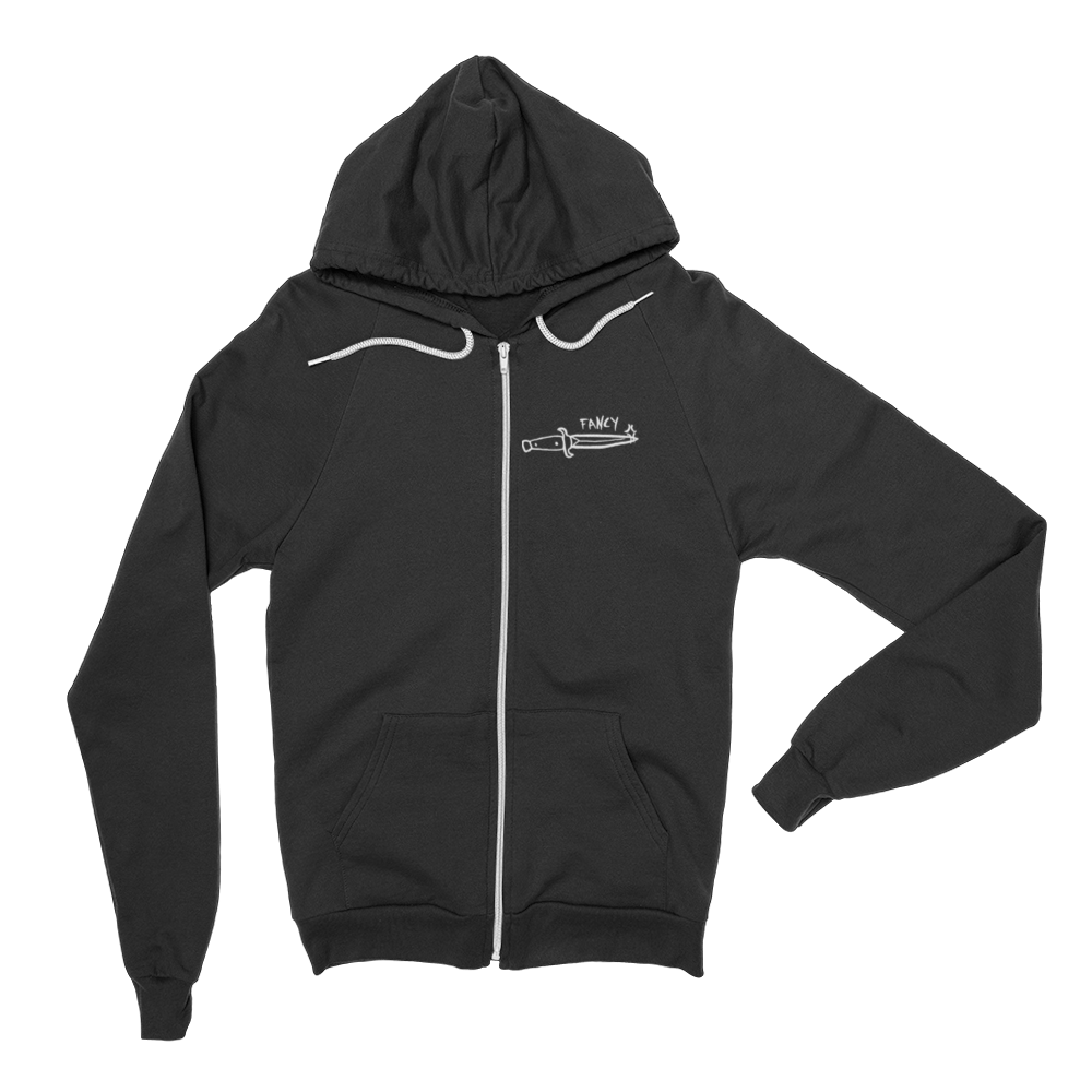 FANCY* zip hoodie,  Zip Hoodies by HORRIBLENOISE