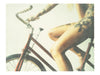 "Designer Red Bicycle • 8x10"" Print - She Hit Pause"