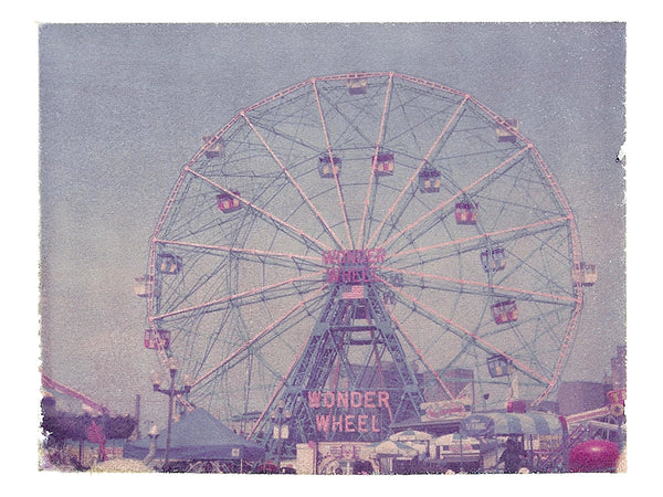 "Ferris Wheel (Coney island) • 8x10"" Print"