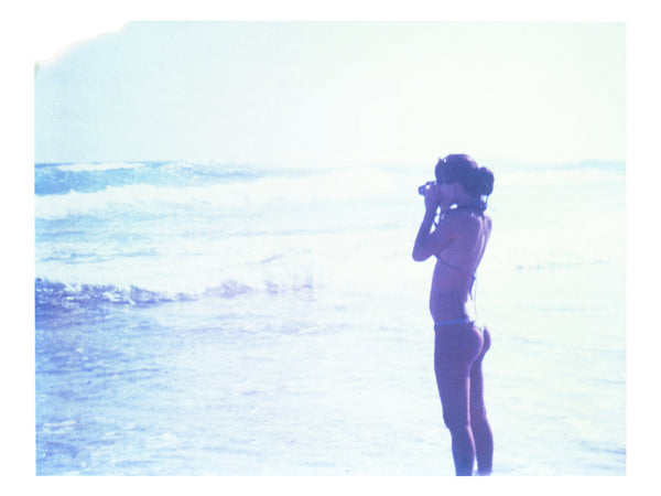 I Photograph Her Photographing The Ocean