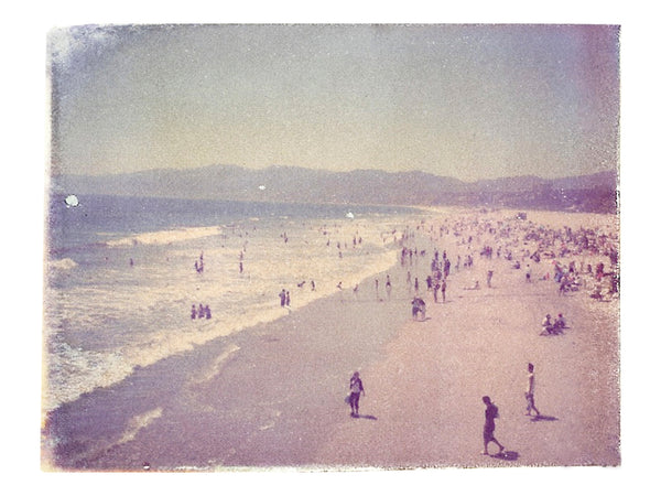"Santa Monica (California) • 8x10"" Print"