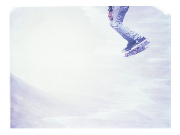"Skating in White (Venice Beach) • 8x10"" Print"