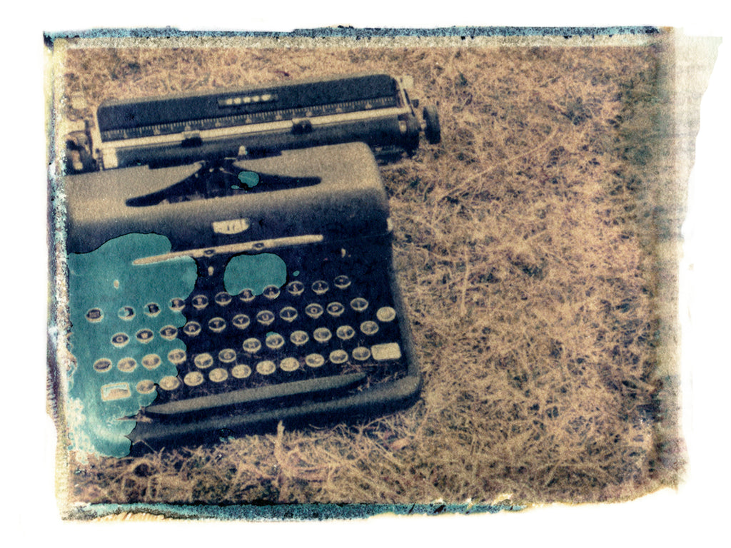 "Typewriter • 8x10"" Print - She Hit Pause"