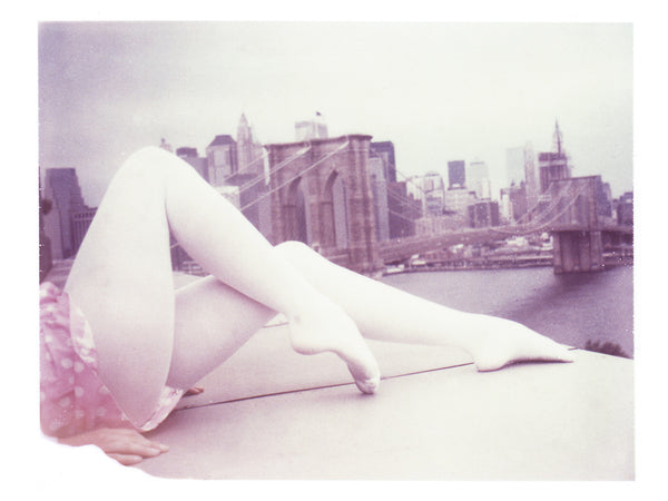 "White Legs + Bridge (Brooklyn) • 8x10"" Print - She Hit Pause"