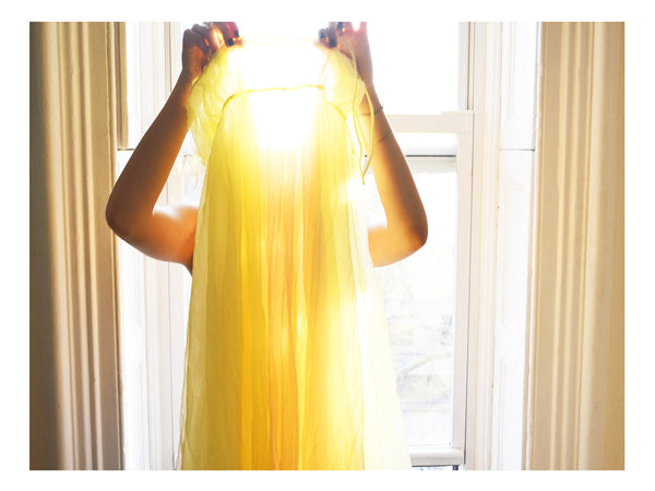 "Yellow Dress • 8x10"" Print"