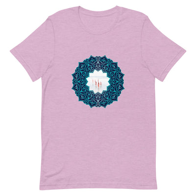 7 Girls (Blue Mandala) T-Shirt