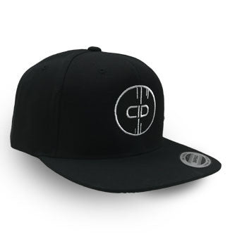 CID LOGO OFFICIAL BLACK SNAPBACK
