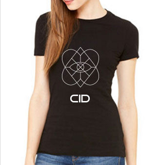 CID LOVE IS BLIND BLACK LADIES TEE