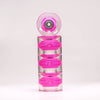 Pink 59mm Cruiser Wheel Set with ABEC-9 Bearings (4-Pack)