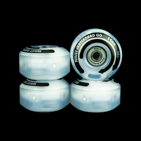 2016 White 54mm Street Wheel Set (4-pack)