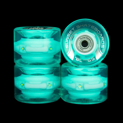 2016 Aqua 59mm Cruiser Wheel Set