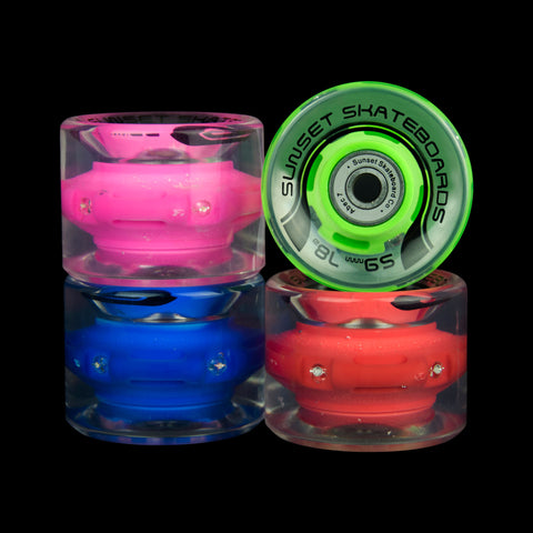 2016 Hippy 59mm Cruiser Wheel Set