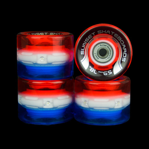 2016 Merica 59mm Cruiser Wheel Set