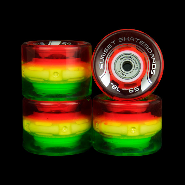 2016 Rasta 59mm Cruiser Wheel Set (4-pack)