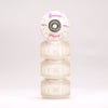 Pink 54mm 90a Street Wheel Set with ABEC-9 Bearings (4-Pack)