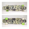"Camo Grip 22"" LED Complete Skateboard with Transparent Griptape"