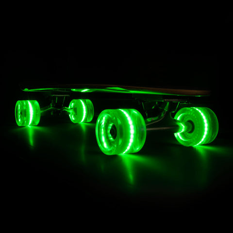 2016 Green 65mm Longboard Wheel Set