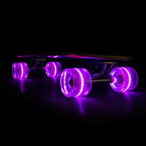 2016 Pink 65mm Longboard Wheel Set