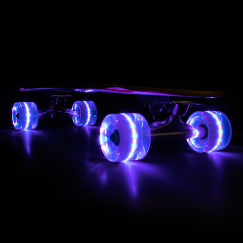 2016 Purple 65mm Longboard Wheel Set