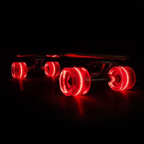 2016 Red 65mm Longboard Wheel Set