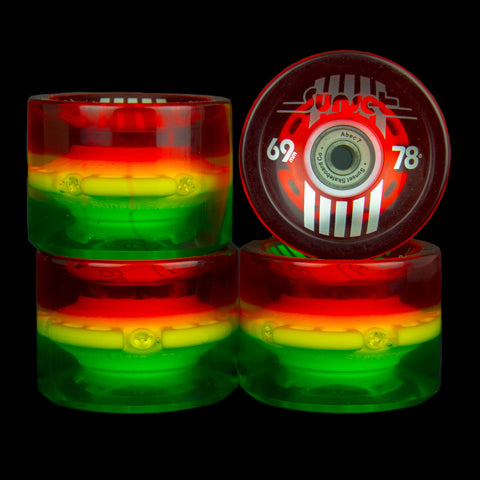 2016 Rasta 69mm Longboard Wheel Set