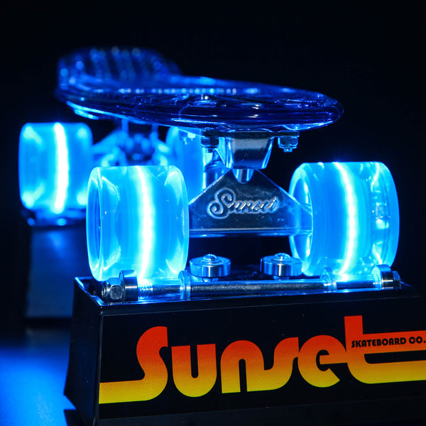 "Wave 22"" LED Complete Skateboard"