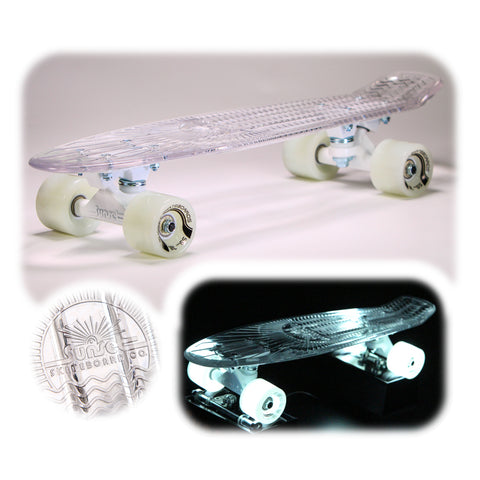 "Ghost 22"" LED Complete Skateboard"