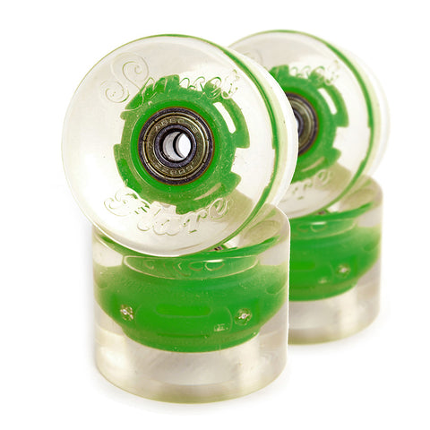 Green 59mm Cruiser Wheel Set (4-pack)