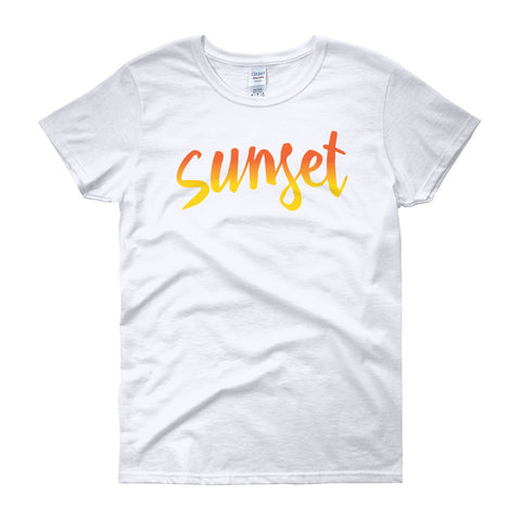 """70's Tribute"" Sunset Women's Top"