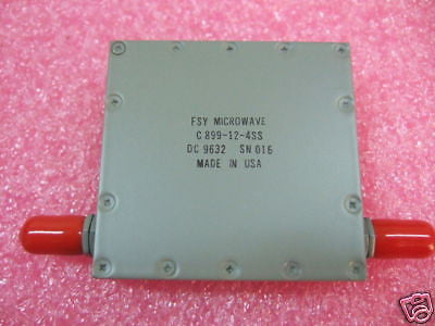 FSY Microwave C813 5-29-5ESS Band Pass Filter NEW