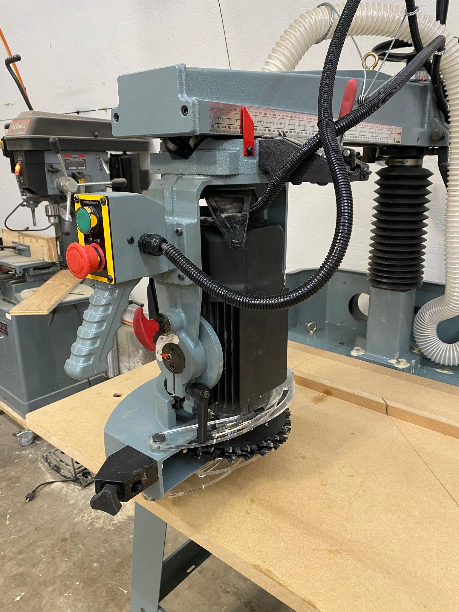 Radial Arm Saw extended