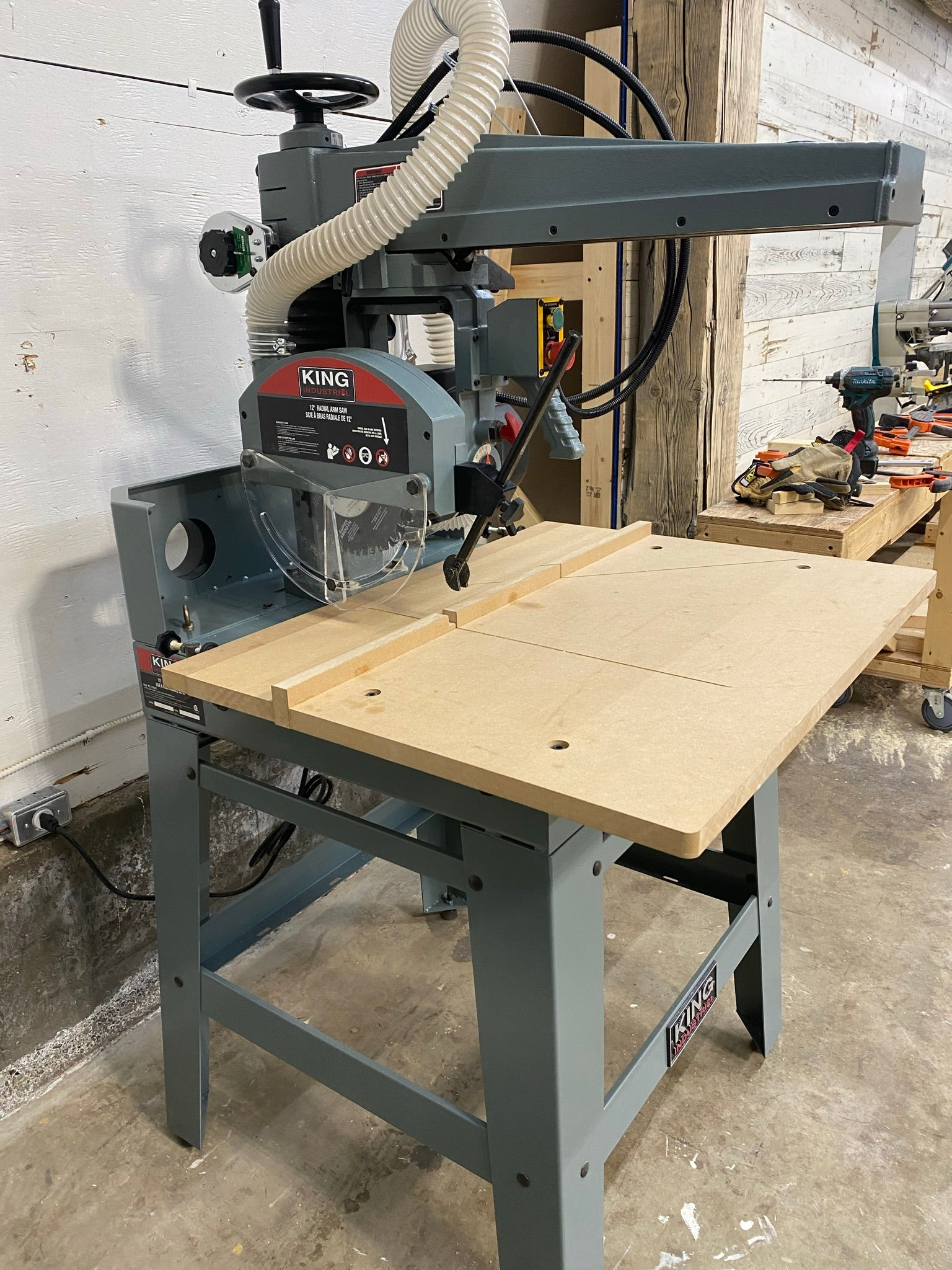 Radial Arm Saw - full table