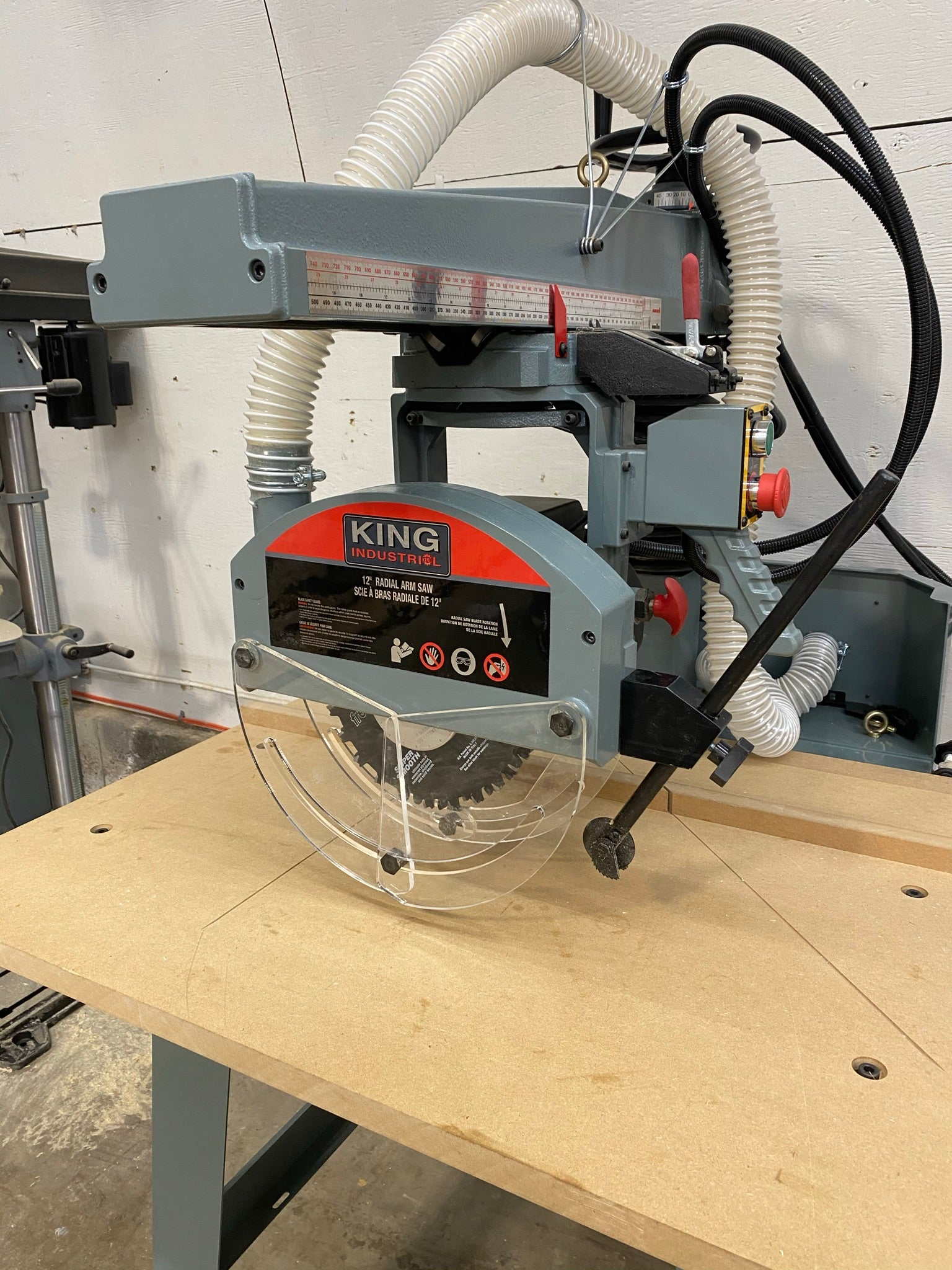 King Canada Tools - Radial Arm Saw
