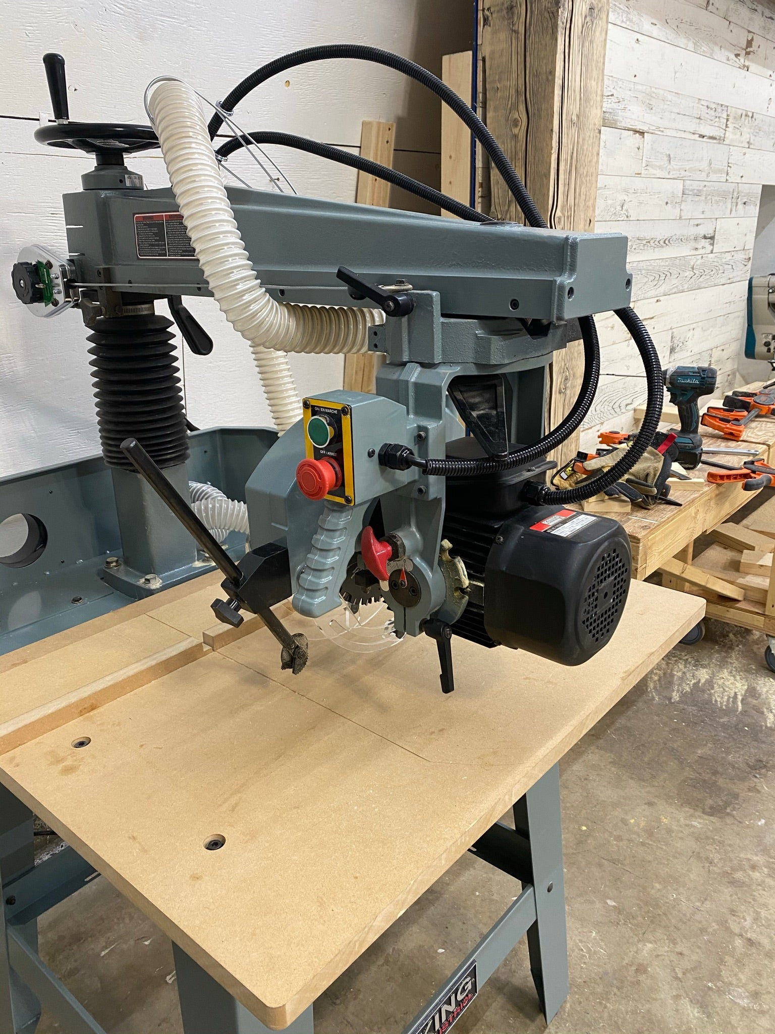 Radial Arm Saw turned