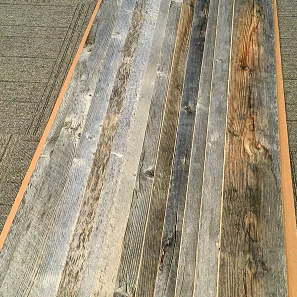 "5"" Barnwood Wall Plank - Natural $9.80/sq. ft."