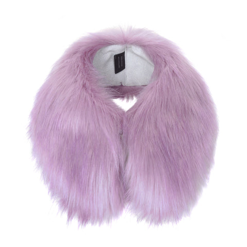 Faux Fur Shirt Collar