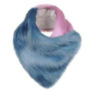 Lia Faux Fur Duo Scarf