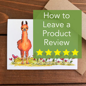 How to Leave a Product Review