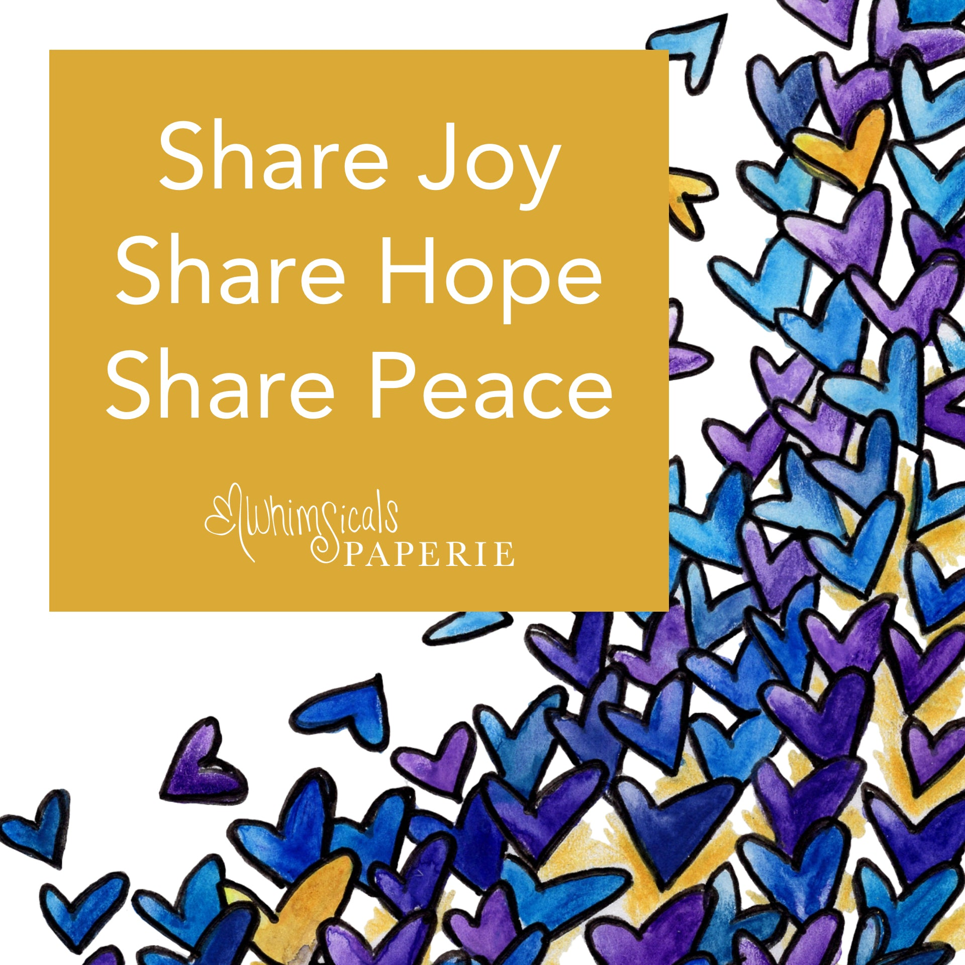 Share Joy, Share Hope, Share Peace
