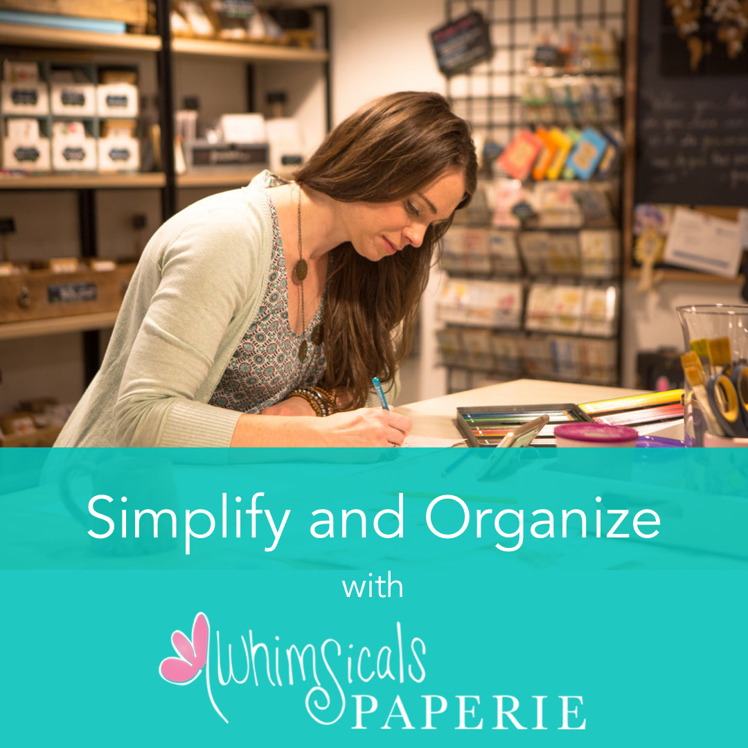 Simplify and Organize with Whimsicals Paperie